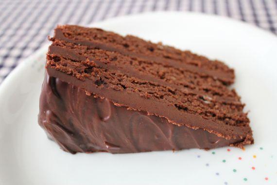 Gluten-Free Mocha Brownie Cake