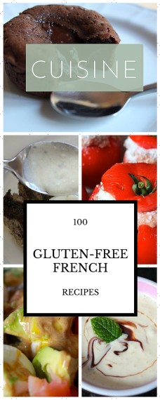 Huge variety of French recipes, all gluten-free and many super easy.
