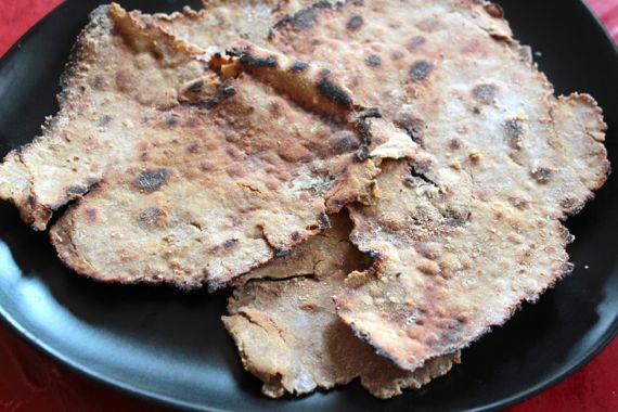 Gluten-Free Flatbread Crackers