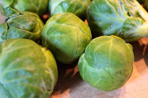 Brussel Sprouts in Orange-Cream Sauce