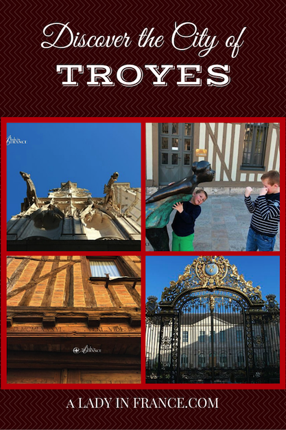 Discover the city of Troyes with @aladyinfrance