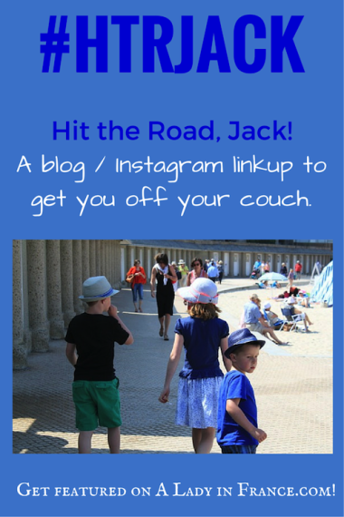 Blog-Instagram photo linkup with @aladyinfrance to get you off the couch and out the door! #HTRJack