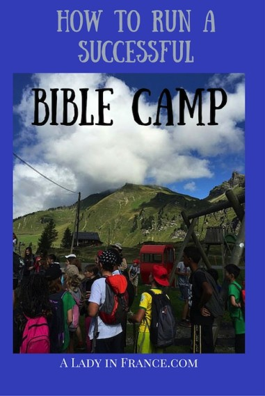 To run a successful BIble camp you need to begin with leaders who have a childlike heart. @aladyinfrance