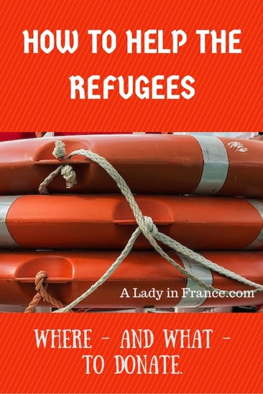 You can help financially, but there is also the possibility to order items from Amazon and have them delivered to France or Greece.