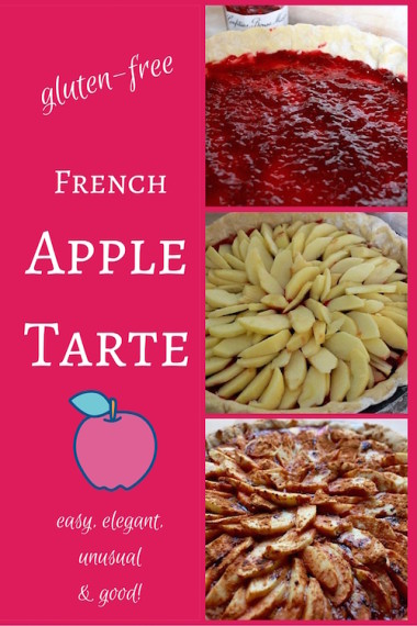 This French apple tarte recipe is gluten-free, so easy, and a perfect dessert for a fall day.