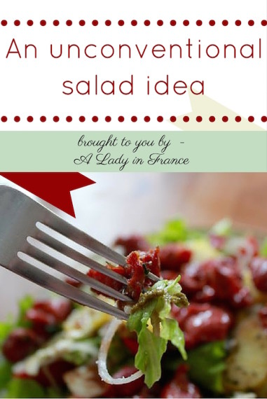 The French are salad experts. This cold salad with warm ingredients is perfect for the in-between seasons.