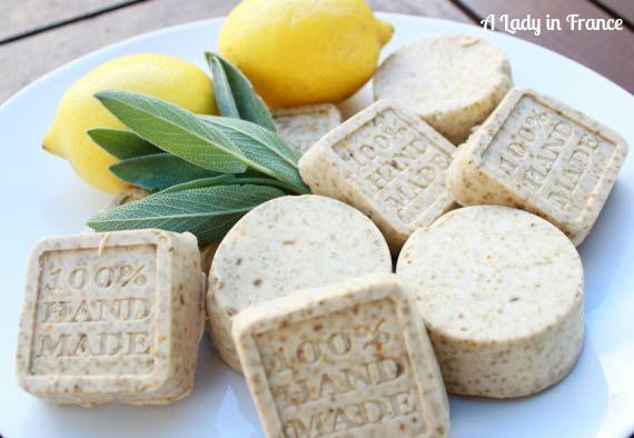 Lemon-Sage Soap & Family News