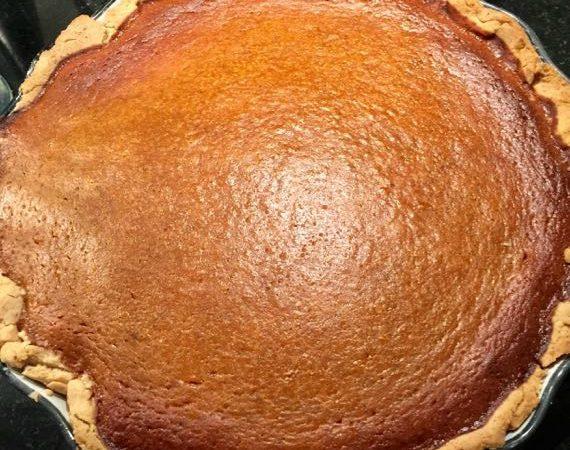 Gluten-Free Pumpkin Pie from Scratch