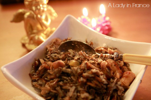 wild rice, sausage & chestnut stuffing