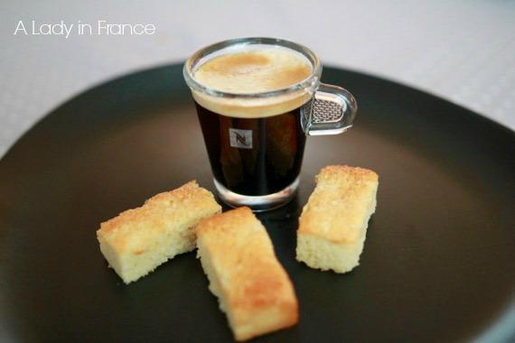 almond financier recipe