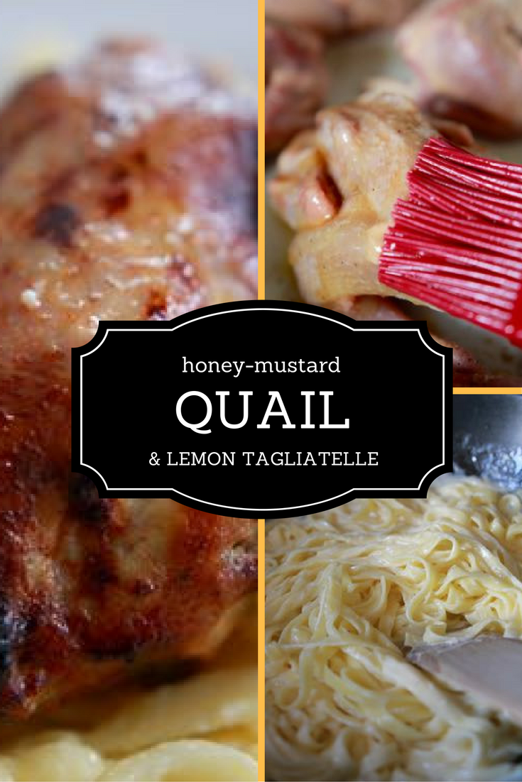 This quail and gluten-free lemon tagliatelle recipe is an elegant, but easy, dish to prepare for guests.