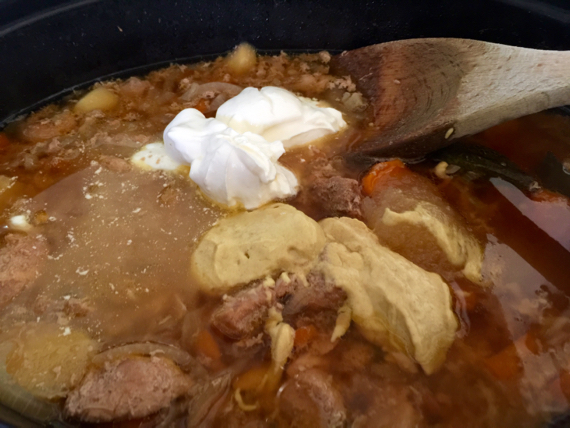Crockpot Cardamom Pork Stew