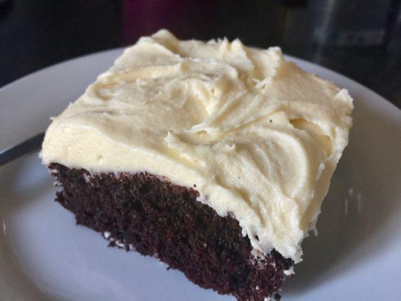 A 9×9″ Chocolate Cake Recipe