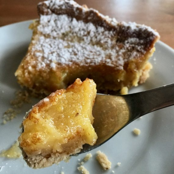French Lemon Tart with gluten-free crust