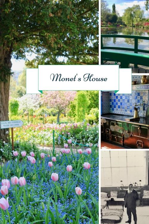 A virtual tour of Monet's house and garden